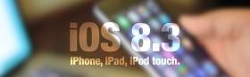 أبل تصدر التحديث iOS 8.3