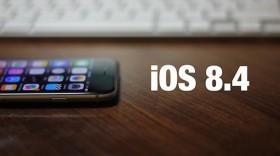 أبل تصدر التحديث iOS 8.4