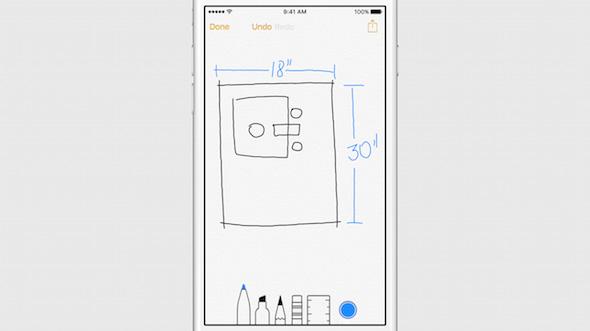 Note iOS 9