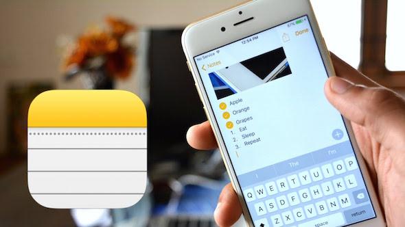 ما الجديد في تطبيق الملاحظات في iOS 9؟
