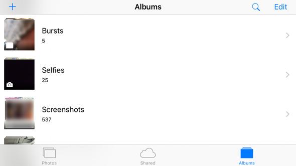 iOS-Photo-Folders