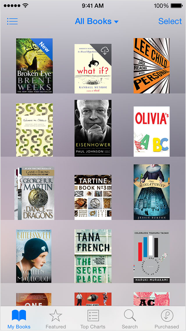 iphone6-ios8-ibooks-my-books