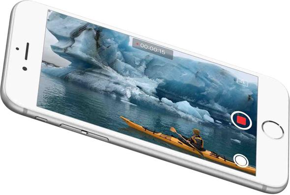 iphone 6s 4k video recording