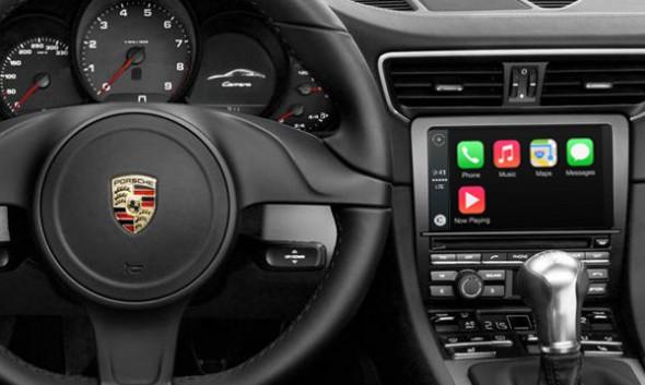 Porsche-apple-car-play