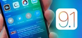 أبل تصدر التحديث iOS 9.1