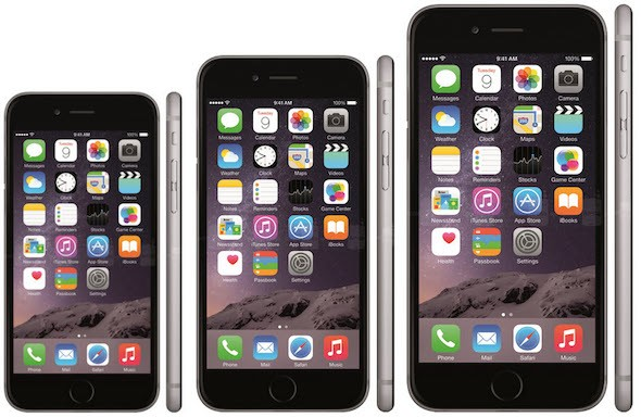 iPhone 3 Size