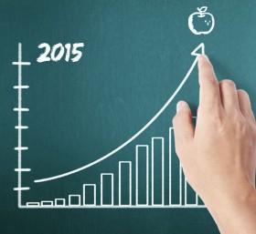 ماذا حققت أبل في عام 2015 المالي؟