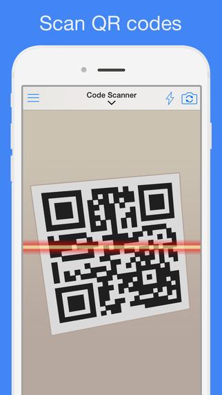 6972a521d تطبيق شهير وبسيط يمكنك من مسح وقراءة محتوى الباركود سواء يضم نص أو بيانات  جهة اتصال أو حتى رابط لموقع أو تطبيق في متجر البرامج.