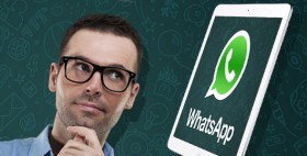 كيف تستخدم واتس آب على الآي باد؟