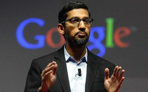 Sundar Pichai CEO Google