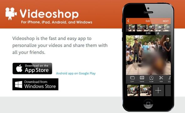 [5] تطبيق مجاني من متجر أبل - Videoshop