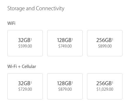 iPad Pro 9.7 Price