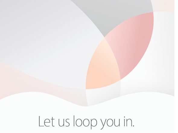 iPhone 5 SE iPad Air Event
