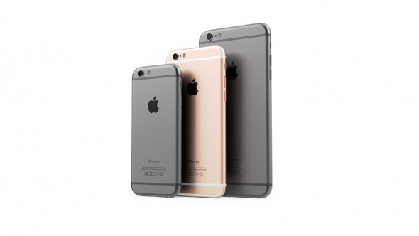 iPhone SE with iPhone 6s and iPhone 6s plus