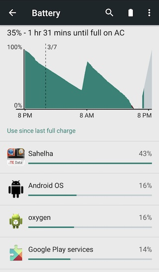 OnePlus Battery