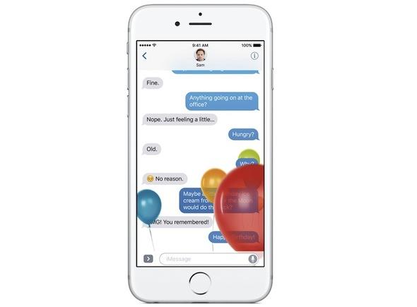 iMessage iOS 10 -1