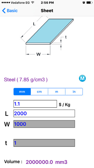 mat calculator