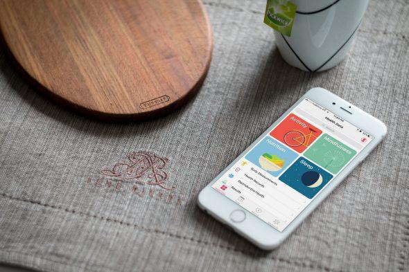 iOS 10 واهتمامه بالصحه