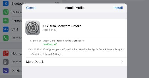 iOS Beta-04
