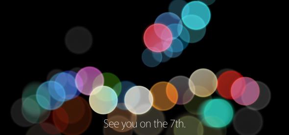 Apple 2016 Sep event