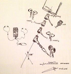 مقبس سماعة آي-فون 7 من تصميم شاب عربي