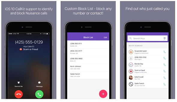 hiya-spam-call-block-app
