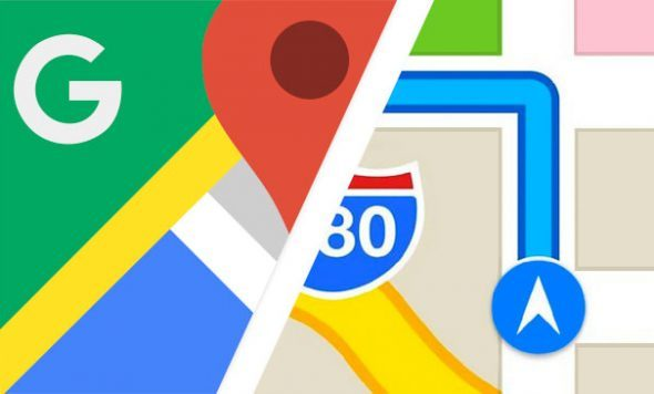 لهذا أفضل خرائط جوجل على أبل
