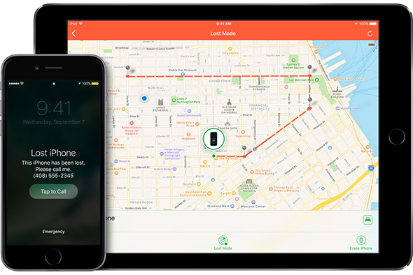 احترف استخدام تطبيقات أبل [2] : العثور على iPhone