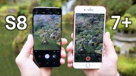 الآي-فون 7 ضد جلاكسي S8