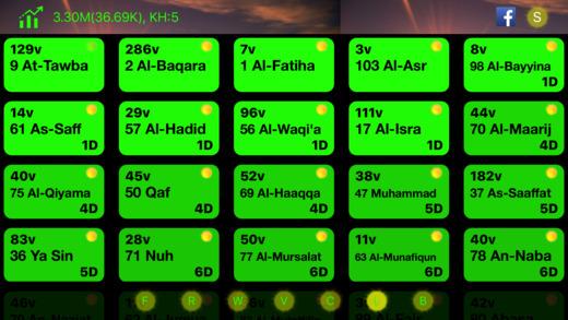 Quran lights