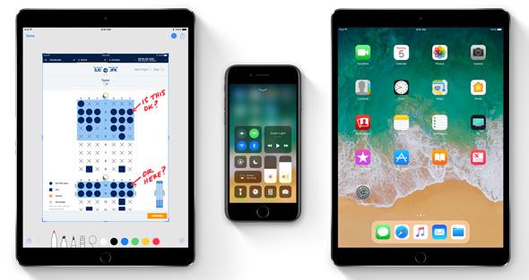 81e451c98 ... الآيباد أكثر من أي وقت مضى، والآن يفتح آفاقاً لإمكانيات مدهشة لتطبيقات وألعاب  الواقع المعزز. مع نظام iOS 11، أصبح الآيفون و الآيباد أكثر فعالية وذكاءً ...