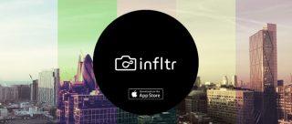 [10] تطبيق مجاني من متجر أبل – infltr