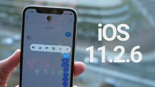 أبل تصدر التحديث iOS 11.2.6 لحل مشكلة الرسالة الهندية
