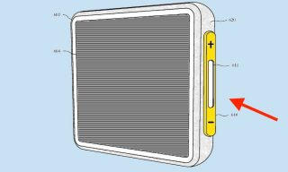 براءة اختراع جديدة لأبل: استبدال أزرار الصوت بتقنية قوة اللمس