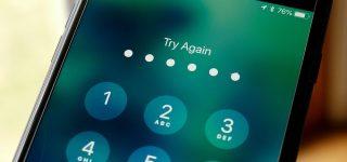 هكر يستطيع تجاوز الحد المسموح لإدخال كلمة مرور فتح الآي-فون