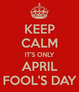 اليوم هو الأول من أبريل، احذر الأخبار الكاذبة