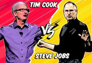تيم كوك أم ستيف جوبز: من أفضل رئيس تنفيذي لشركة أبل؟