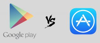 تفوق App Store على Google Play في النصف الأول من 2018