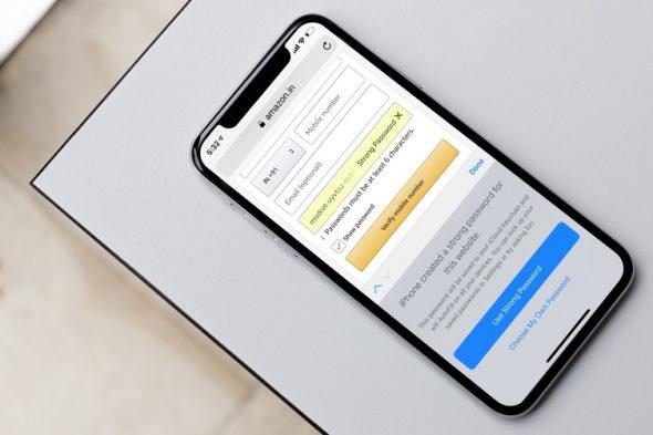 كيف تفعل ميزة إكمال كلمات المرور تلقائياً بالتطبيقات في iOS 12