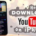 كيف تحمل الفيديوهات من يوتيوب إلى ألبوم صور الآي فون في ثوان معدودة