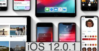 أبل تطلق التحديث iOS 12.0.1