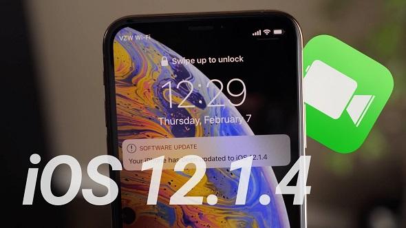 أبل تطلق التحديث iOS 12.1.4