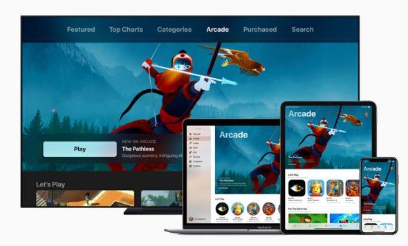 خدمة Apple Arcade تقود إلى قفزة كبيرة في صناعة الألعاب