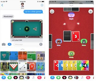 ألعاب يمكنك لعبها مع اصدقائك على iMessage