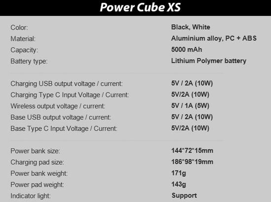 أول باور بانك لاسلكي سريع Power-Cube-Xs.jpg?x8