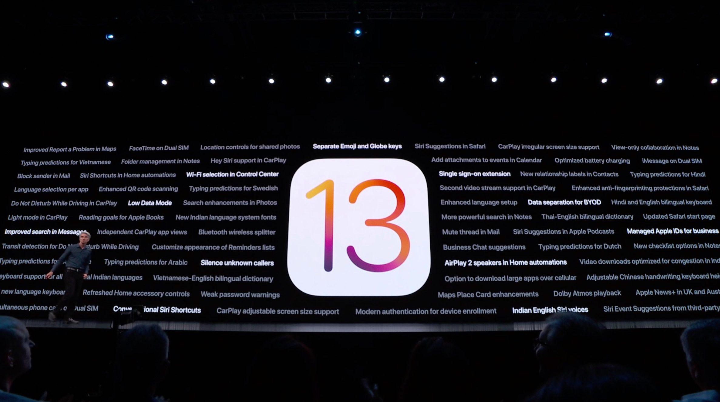 مميزات جديدة ومثيرة في iOS 13 - آي-فون إسلام