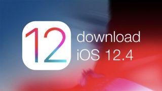 أبل تطلق التحديث iOS 12.4