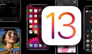 ما قبل التحديث إلى iOS 13