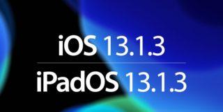 أبل تطلق التحديث iOS 13.1.3